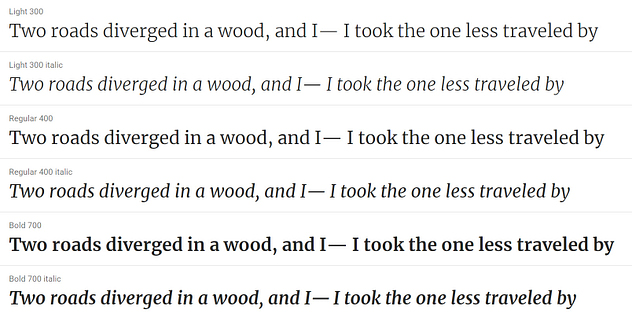 Merriweather - 20 migliori font di Google per i blog e come usarli su WordPress  blog