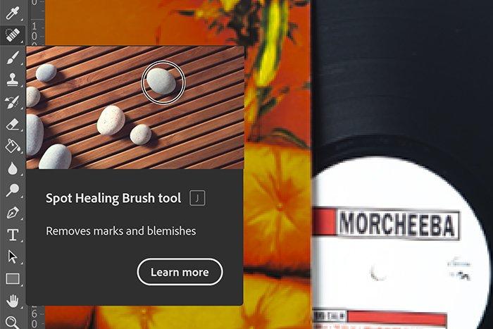 Spot Healing Brush Tool - 10 consigli per scattare foto di prodotti Amazon professionali a casa!  blog
