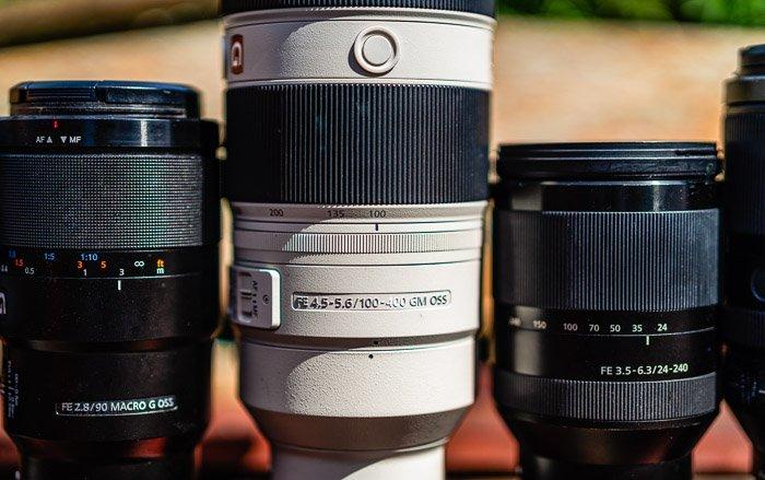 Cosa significano i numeri e le lettere sulle lenti delle macchine fotografiche?