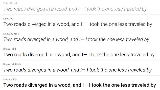 roboto 1 - 20 migliori font di Google per i blog e come usarli su WordPress  blog